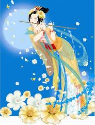 donna cinese e flauto magico