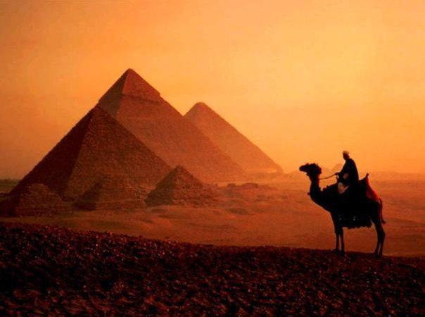 La civiltà avanzata dell'antico Egitto.